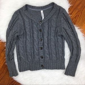 3 FOR $10! Aeropostale | Cropped Knit Cardigan